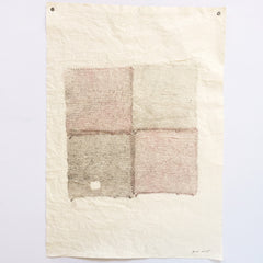 Untitled (4 peggy squares) by Rebecca Thomson