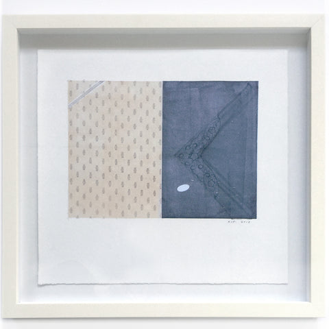 Two Handkerchief Gift Set (framed) by Rebecca Thomson