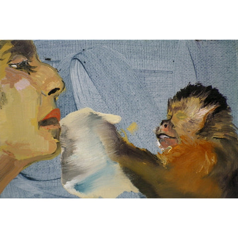 Woman and Monkey by Sarah Williams