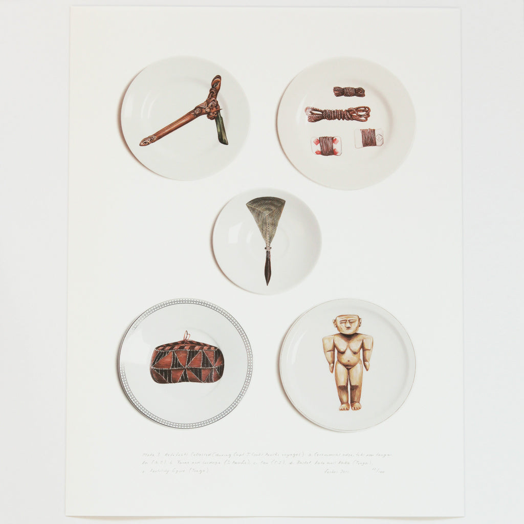 Artefacts collected by Tabatha Forbes