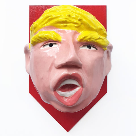 Trump trophy #1 by Mark Rayner