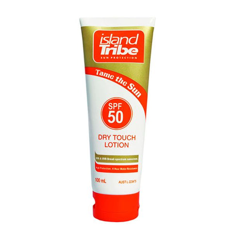 Island Tribe SPF 50 Dry Touch Lotion - 100mL