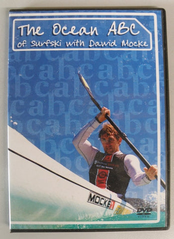 DVD - The Ocean ABC of Surfski with Dawid Mocke
