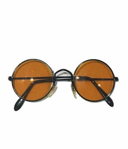 Orange Lennon Glasses