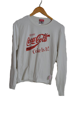 Coca-Cola Long Sleeve Tshirt - S