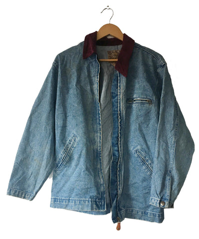 Denim Parka - L