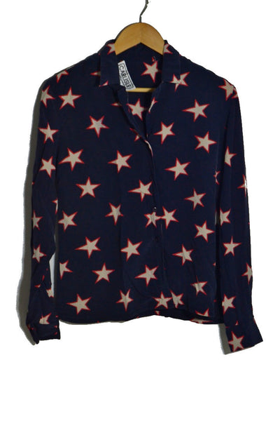 Stars Silk Blouse