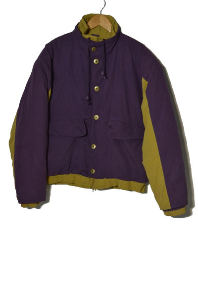 Purple + Mustard Jacket