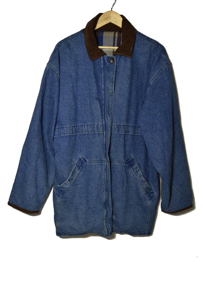 Parka Denim Jacket