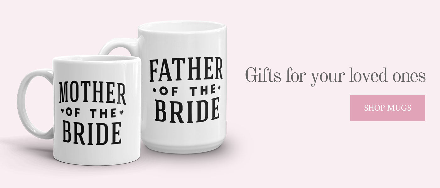 Wedding Mugs - Wedding Gifts by Kaspi Party