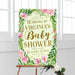Baby Shower Welcome Sign Spring Wreath