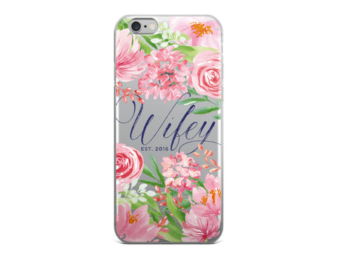 Wifey iPhone Case - Spring Bouquet