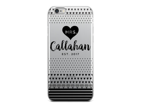 Black Diamonds iPhone Case