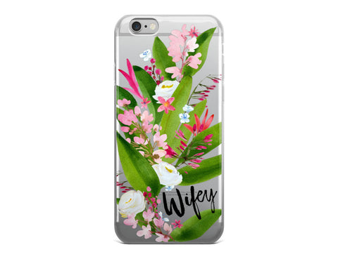 Wifey iPhone Case - Paradise
