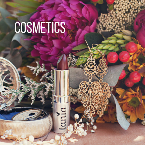 Tania Louise Cosmetics are natural, organic vegan and cruelty free.