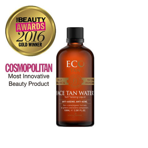 Eco Tan Organic Face Tanning Toner at Tania Louise