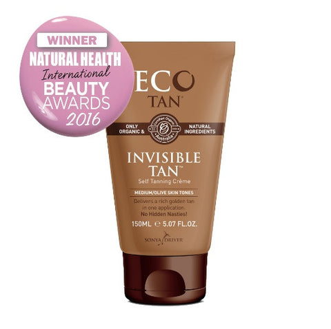 Invisible Organic and Vegan Tan by Eco Tan at Tania Louise