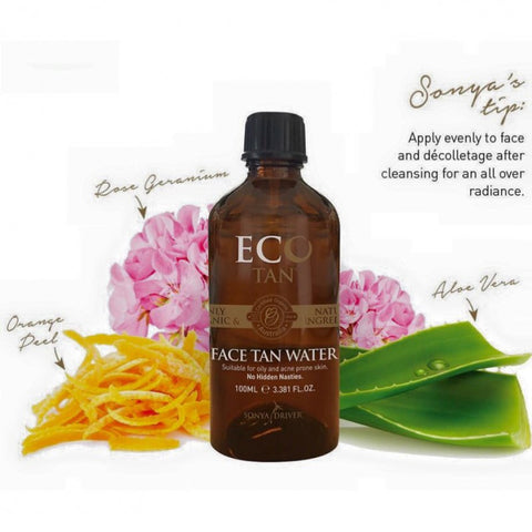 Eco Tan Botanic Face Tanning Water at Tania Louise