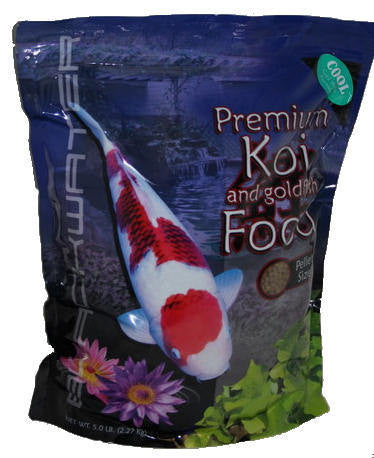 Blackwater Cool Season Formula Koi Food - 5 lb Bag - Koi To The World