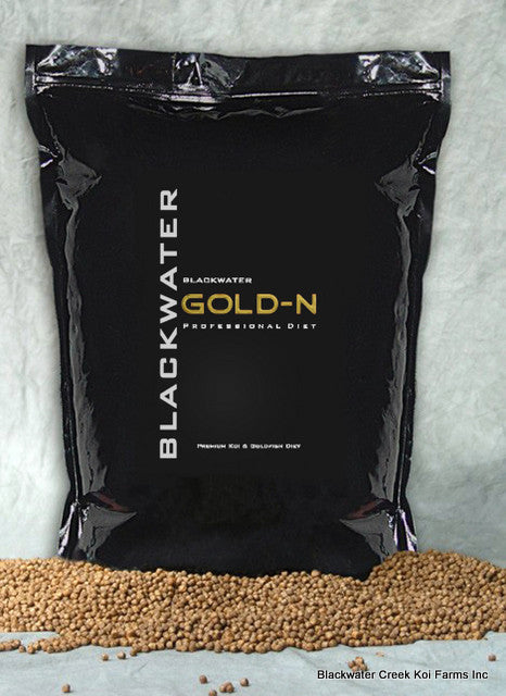 Blackwater GOLD-N PROFESSIONAL Koi Food - 40 lb Bag - Koi To The World