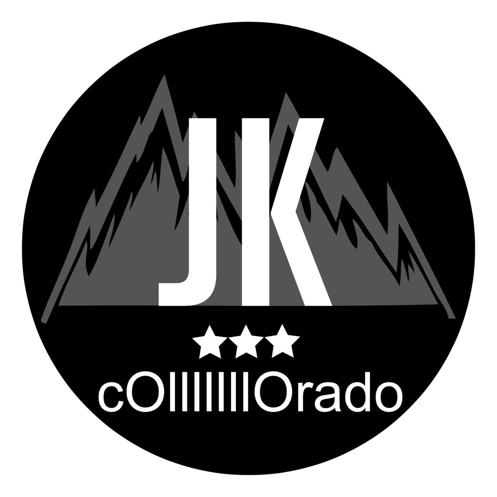 JKcOlllllllOrado - Round Decal (Sold as Pair)