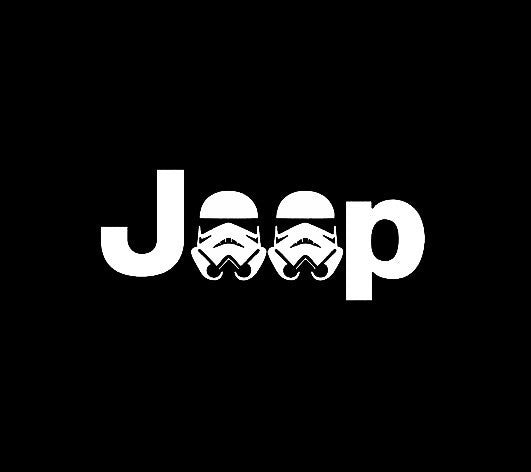 Jeep Stormtrooper - Vinyl Decal