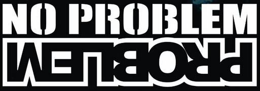 No Problem - Vinyl Decal