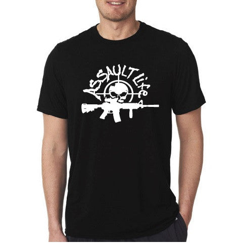 Assault Life Short Sleeve - Men Black T-shirt