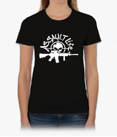 Assault Life Short Sleeve - Women's Black T-shirt