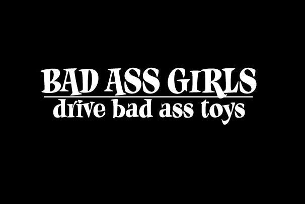 Bad A$$ Girls - Vinyl Decal