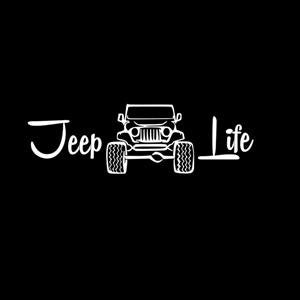Jeep Life II - Vinyl Decal