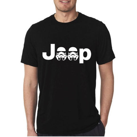 Jeep Storm Trooper Short Sleeve Black T-shirt a2