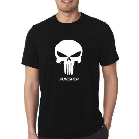 Punisher - Short Sleeve Men's Black T-shirt