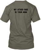 My Other Ride - Men's T-Shirt - Double Sided Print