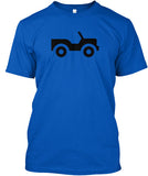Jeep It - Mens T-shirt - Double Sided Print