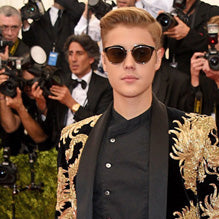 Justin Bieber at the Met Gala
