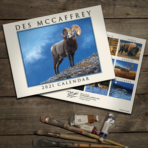 2021 Wildlife Art Calendar