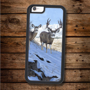 Mule Deer Pair iPhone Case