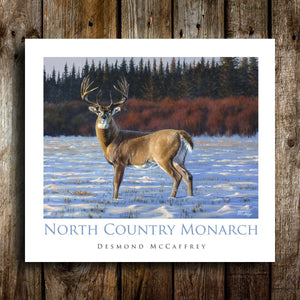 North Country Monarch Poster