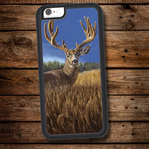 Velvet Mule Deer iPhone Case