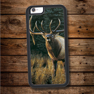 Bugling Elk iPhone Case