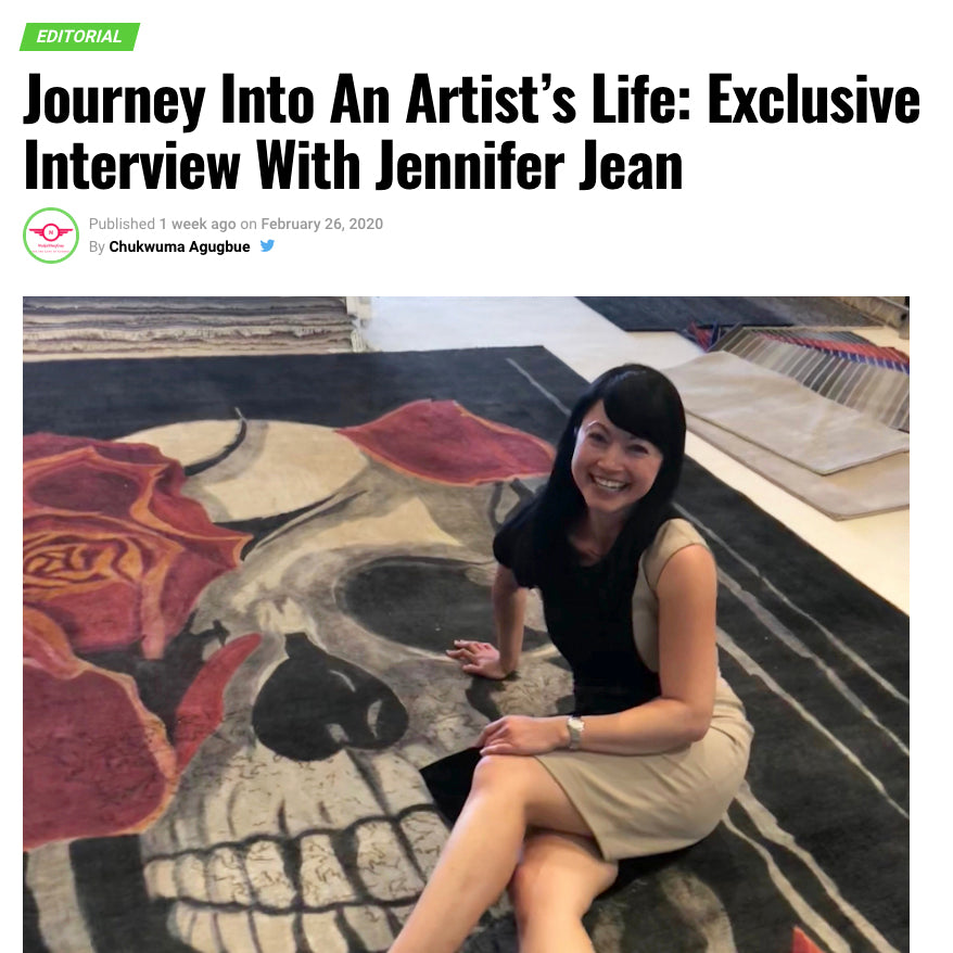 Disrupt Magazine Feature Interview with Jenny Jean Okumura