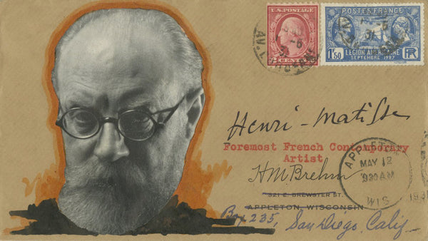 Henri Matisse - Signed Custom Postal Cover