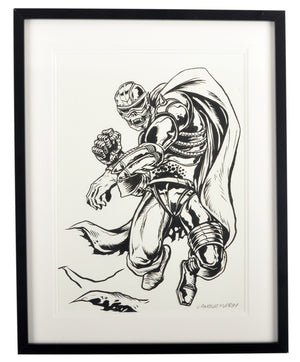 L'Amour Supreme - CZARFACE - Signed Original Ink Process Sketch