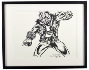 L'Amour Supreme - CZARFACE, MF DOOM - Signed Original Ink Process Sketch