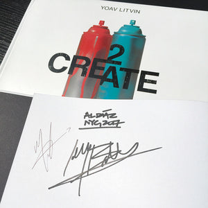 "Al Diaz & Jilly Ballistic ""2 Create"" - Signed Book, First Edition"