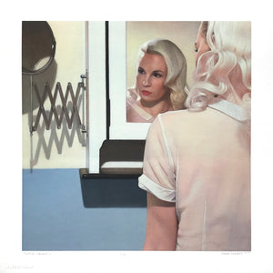 "Shaun Downey ""White Cabinet II"" - Archival Print, Limited Edition of 10 - 12 x 12"""