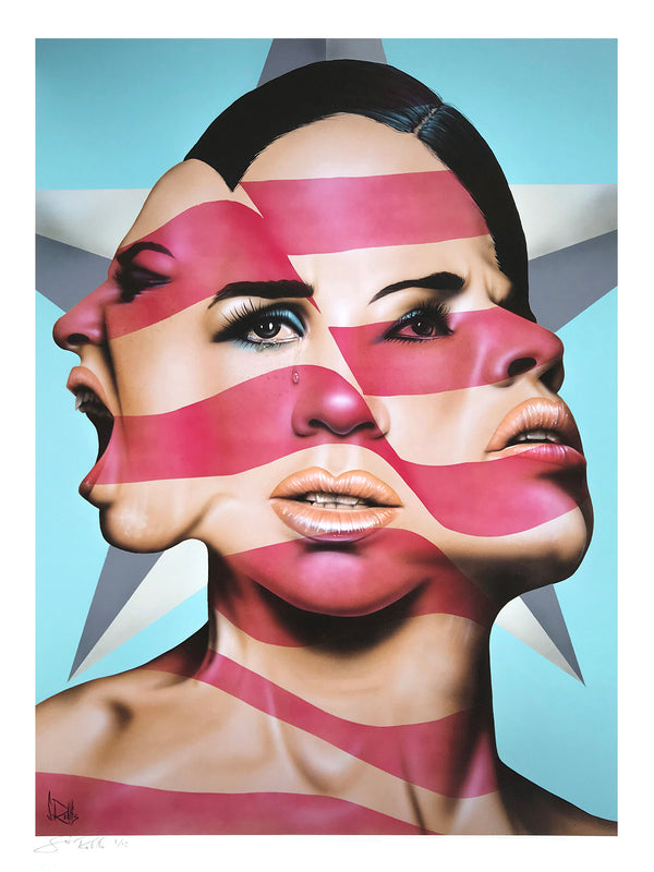 """America The Beautiful?"" by Scott Rohlfs - Archival Print, Limited Edition of 12 - 18 x 24"""