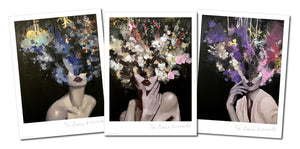 "3 Print Set by Anna Kincaide - 3 Archival Prints, Edition of 12 - 9 x 12"" Each"