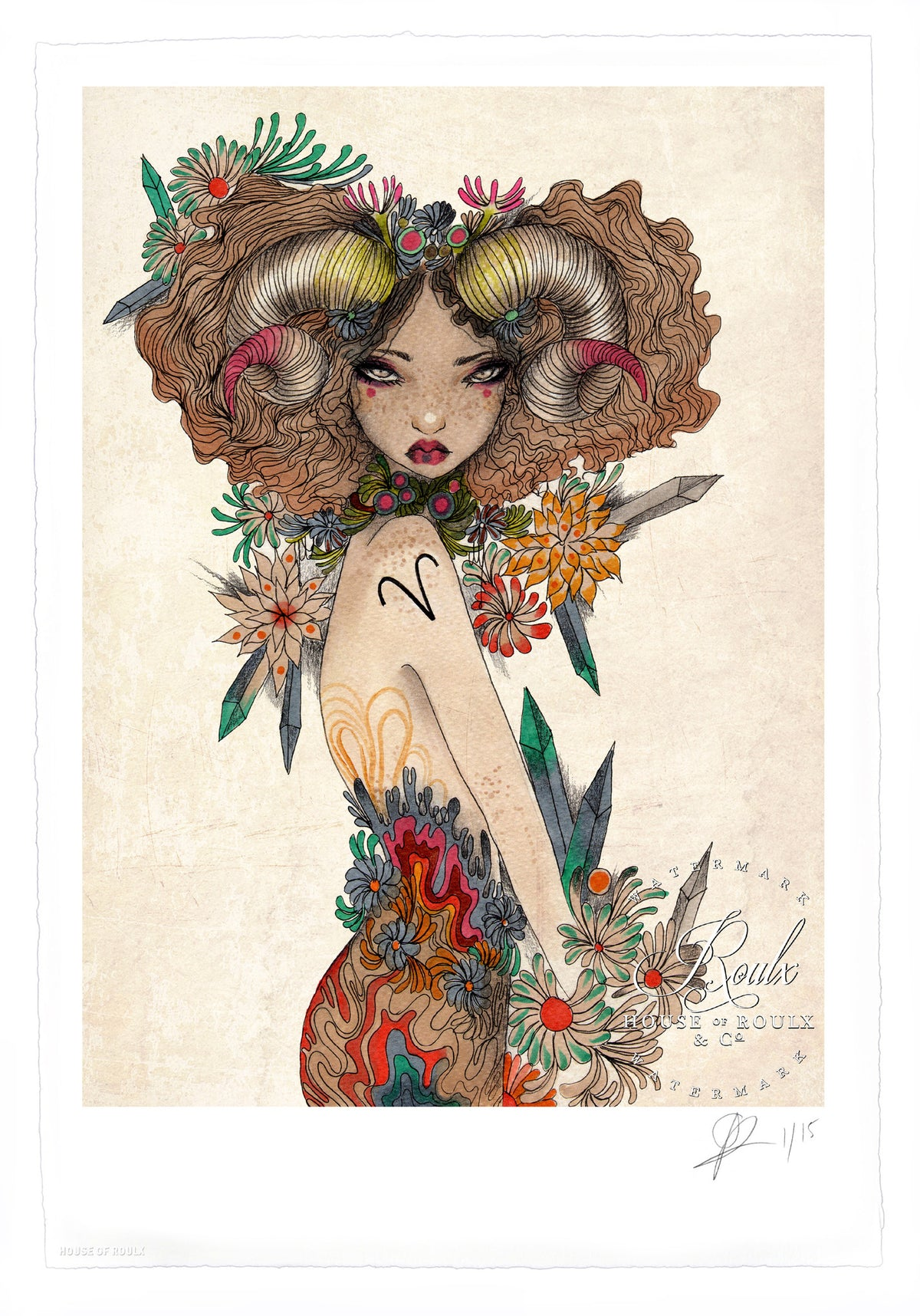 "Olivia Rose ""Aries"" - Limited Edition, Archival Print - 13 x 19"